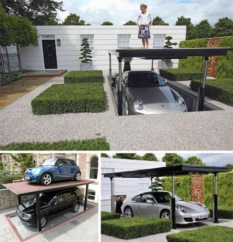 Elevator Lifting Underground Car Garage