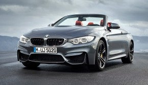 2015-BMW-M4-convertible-front-seven-eighths-view