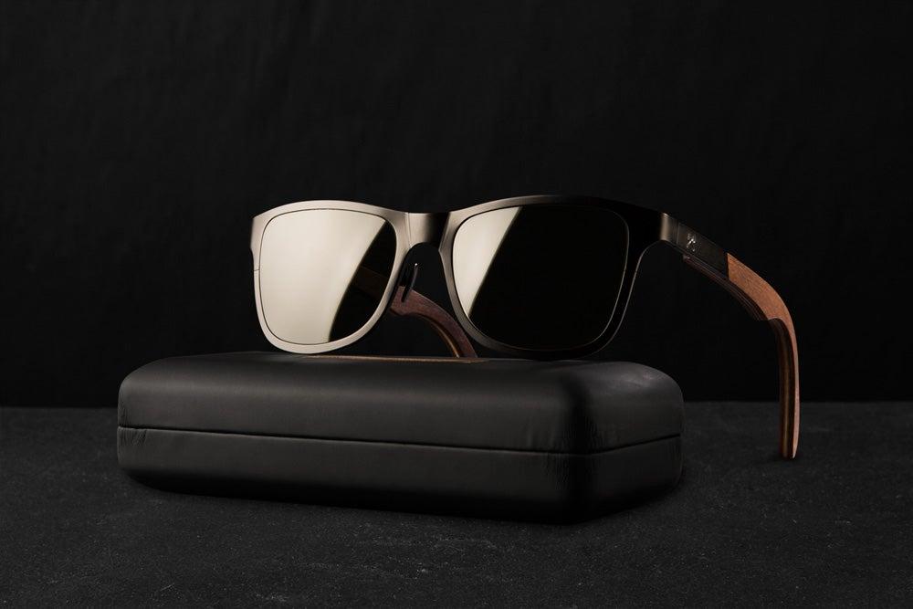 91c5656625 Shwood Fifty Fifty Titanium Sunglasses - SWAGGER Magazine