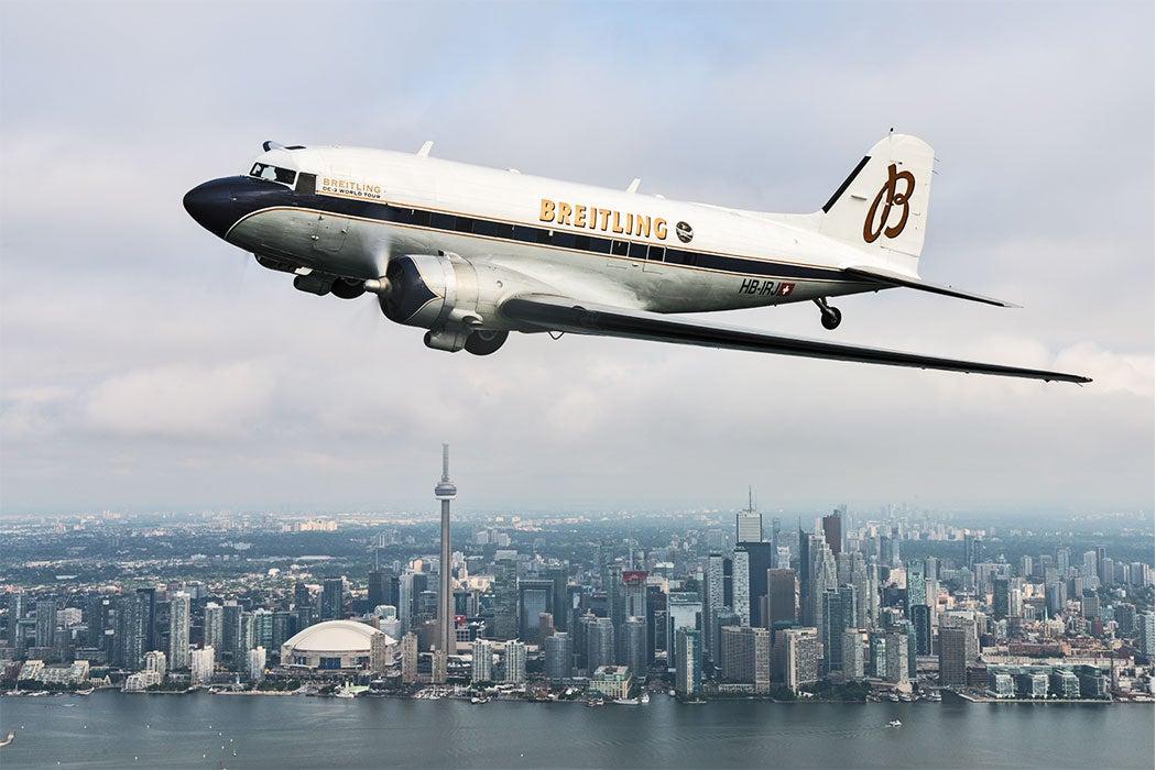 Breitling World Tour DC-3