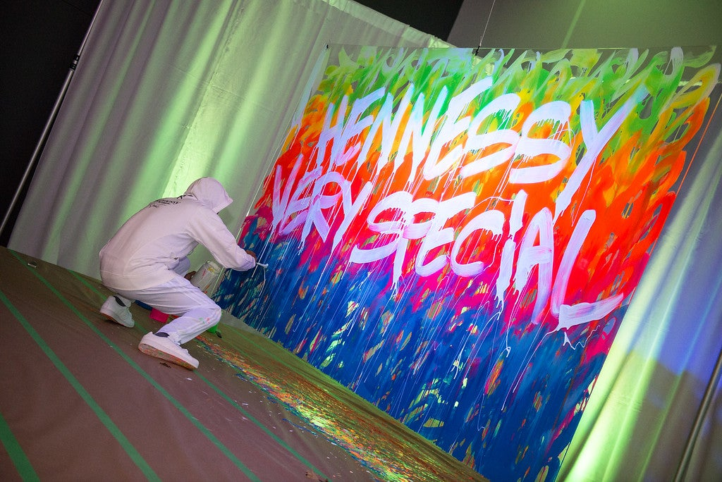 Hennessy Very Special Edition Launch with JonOne