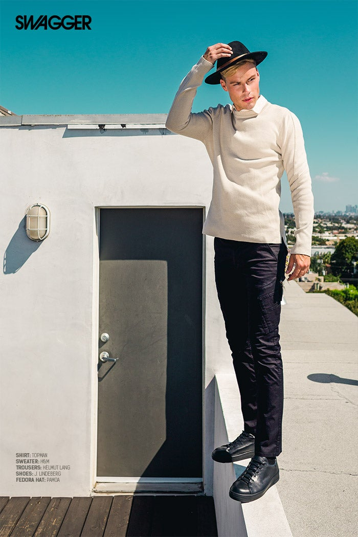 SWAGGER Magazine - Fall Look Editorial - Jose Manuel Cruz