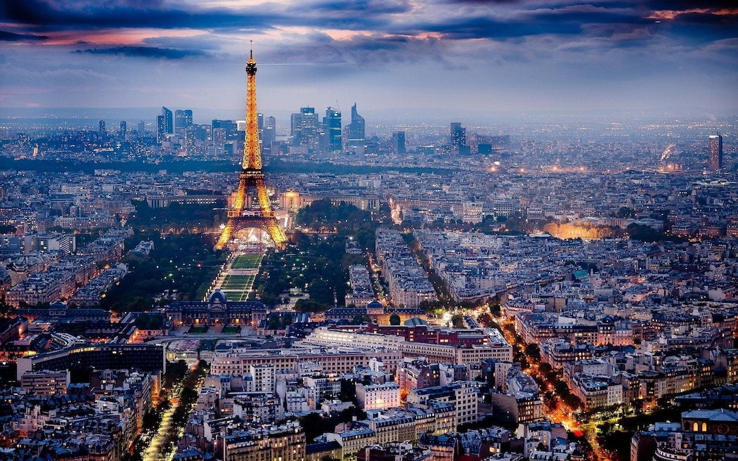 Paris 4k Panorama Evening City Eiffel Tower Swagger Magazine
