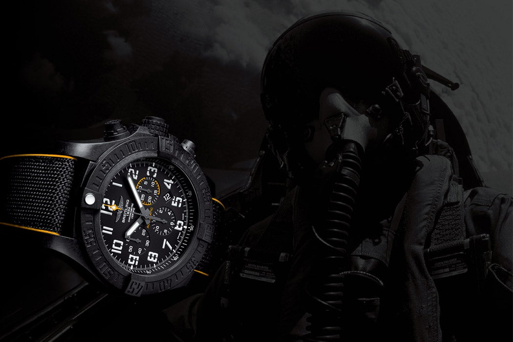 Astronaut Scott Kelly and Breitling Avenger Hurricane 12H Watch - Swagger Magazine