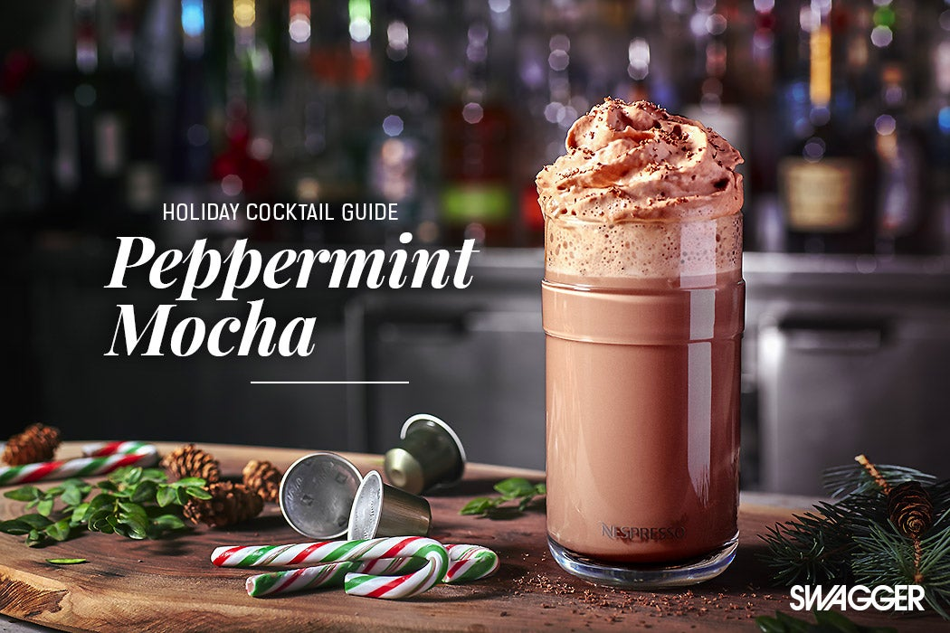 Holiday Cocktails Guide - Peppermint Mocha - Swagger Magazine