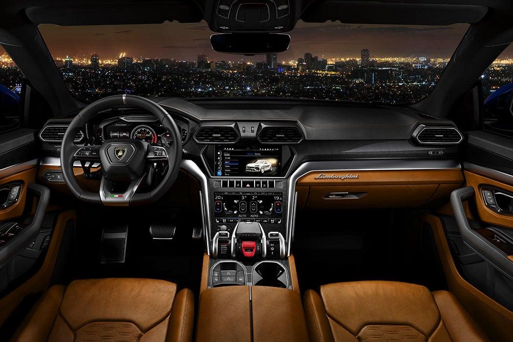 Lamborghini Urus Interior (SUV) - Swagger Magazine