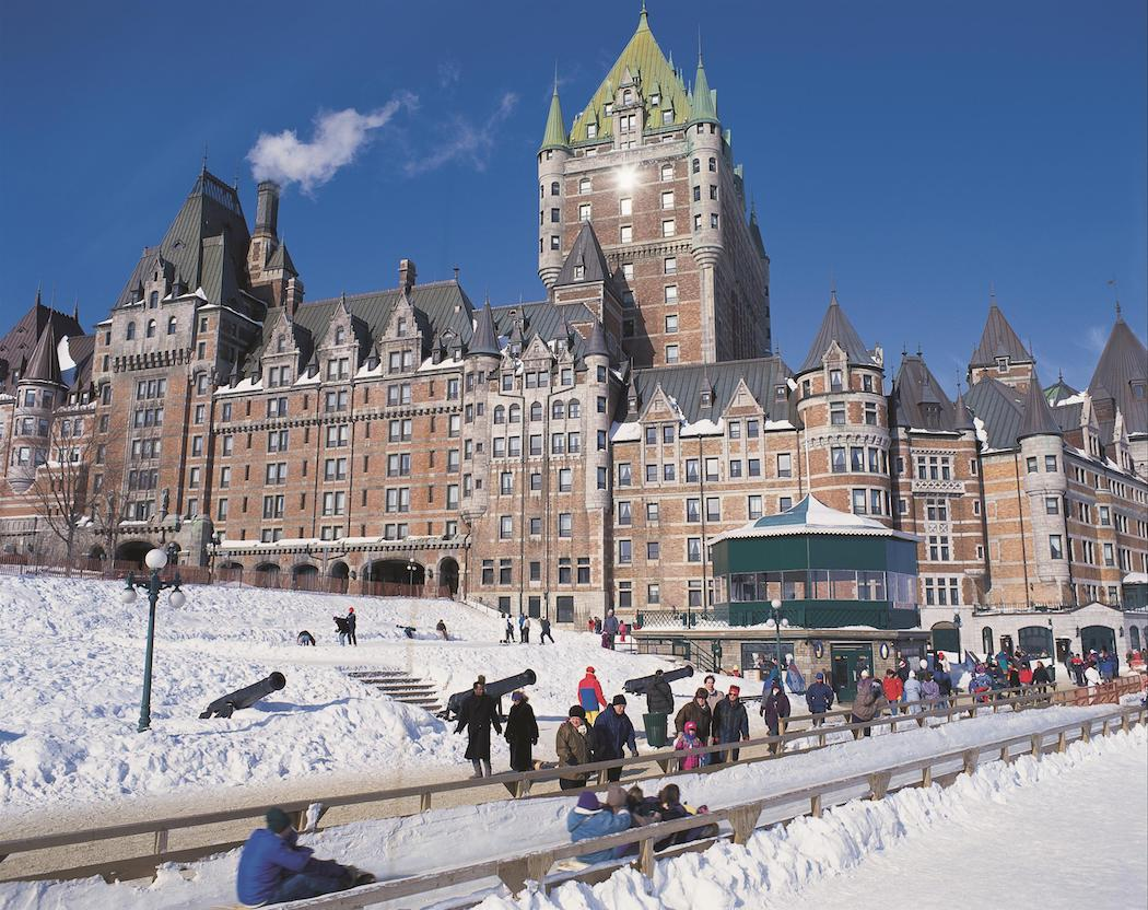 Quebec City - Le Chateau Frontenac Fairmont - SWAGGER Magazine