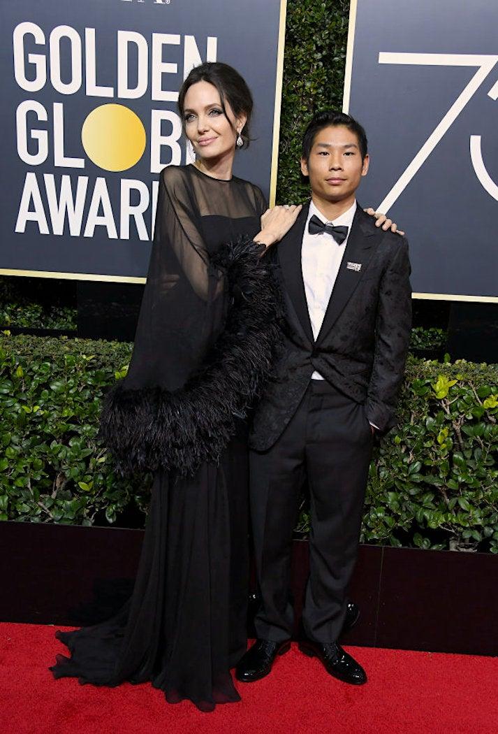 Pax Jolie-Pitt - 2018 Golden Globes - SWAGGER Magazine