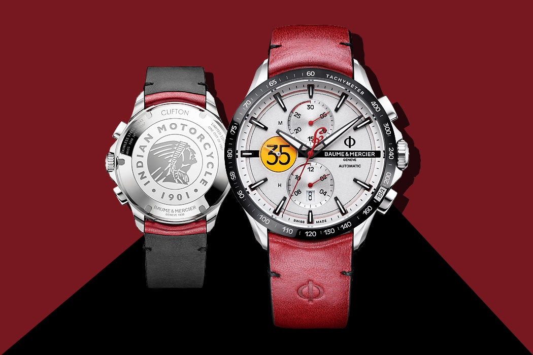 Baume Mercier Limited-Edition Clifton Club Indian - Watch Feature - SWAGGER Magazine
