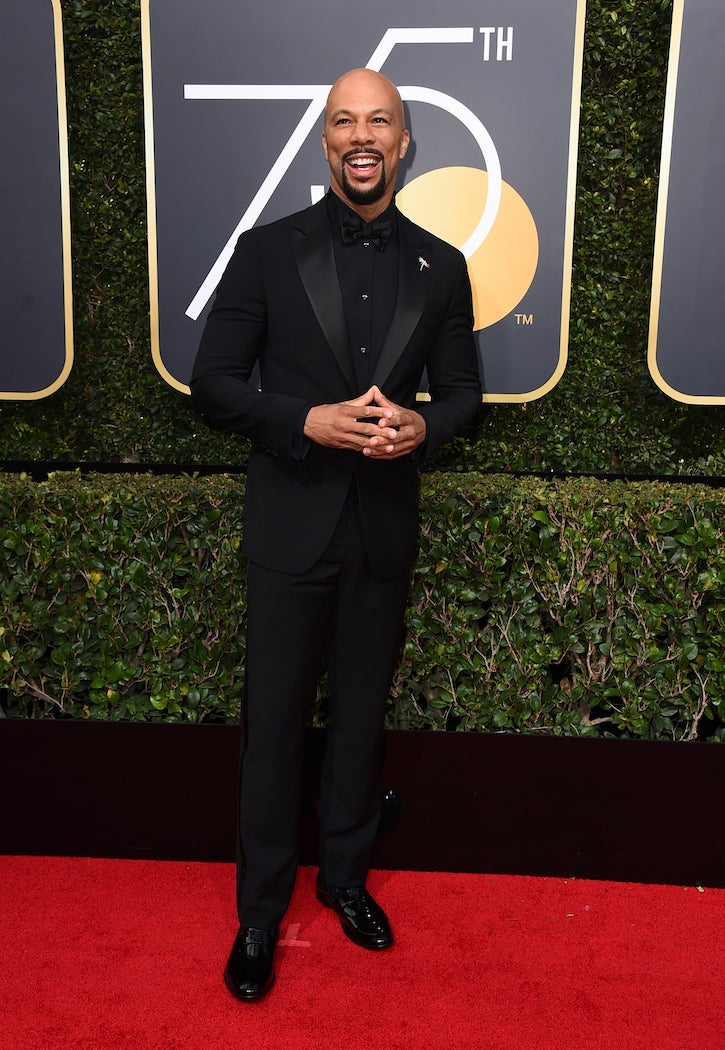 Common - 2018 Golden Globes - SWAGGER Magazine