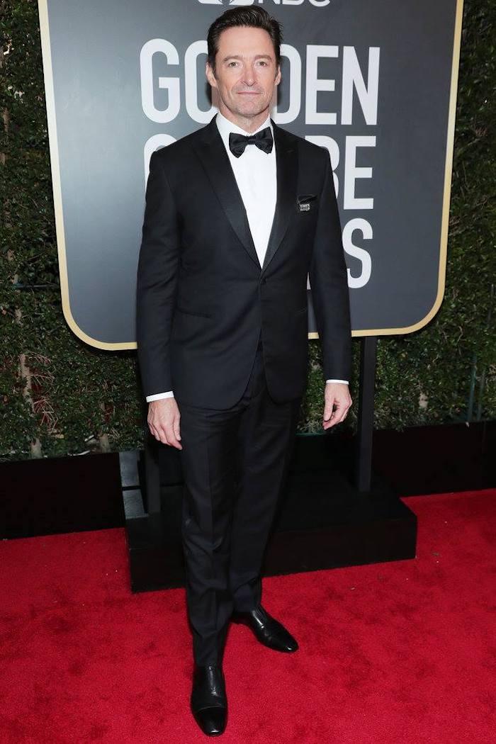 Hugh Jackman - 2018 Golden Globes - SWAGGER Magazine