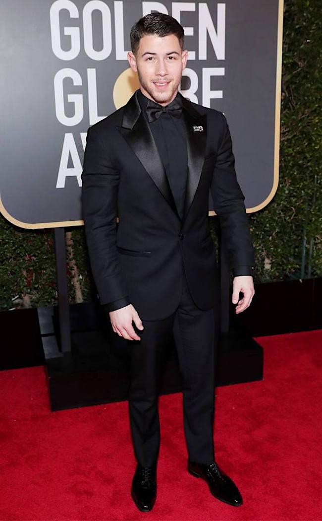 Nick Jonas - 2018 Golden Globes - SWAGGER Magazine