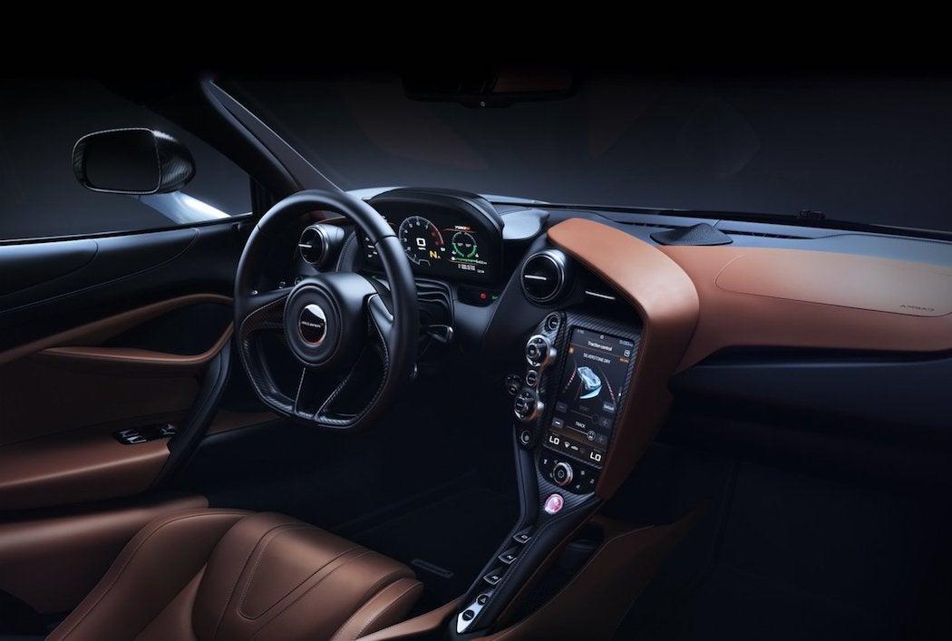 McLaren 720S Interior Dashboard - SWAGGER Magazine