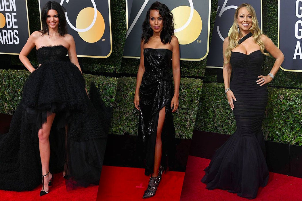 Best Dressed Women in Black at the 2018 Golden Globes - SWAGGER Magazine