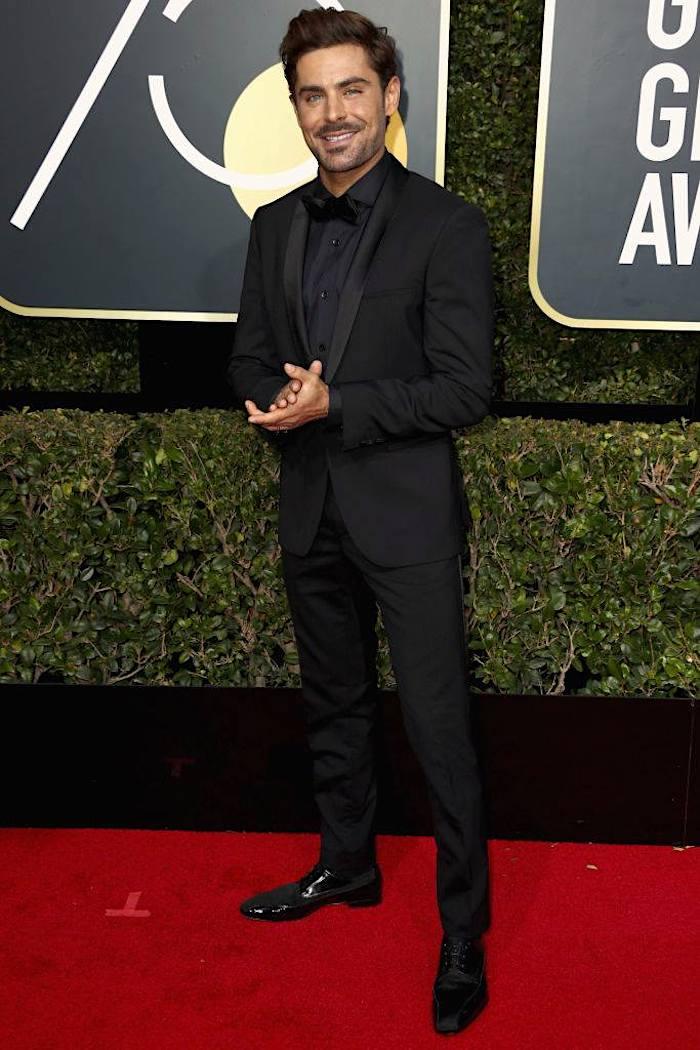 Zac Efron - 2018 Golden Globes - SWAGGER Magazine