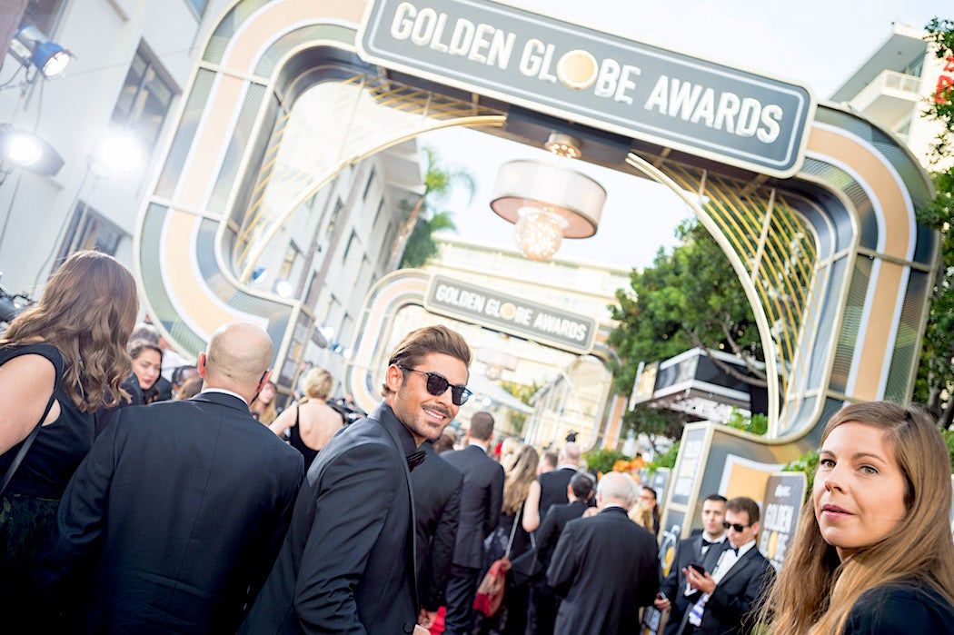 Zac-Efron-Entering-the-Golden-Globes-2018-Golden-Globes-Best-Dressed-SWAGGER-Magazine