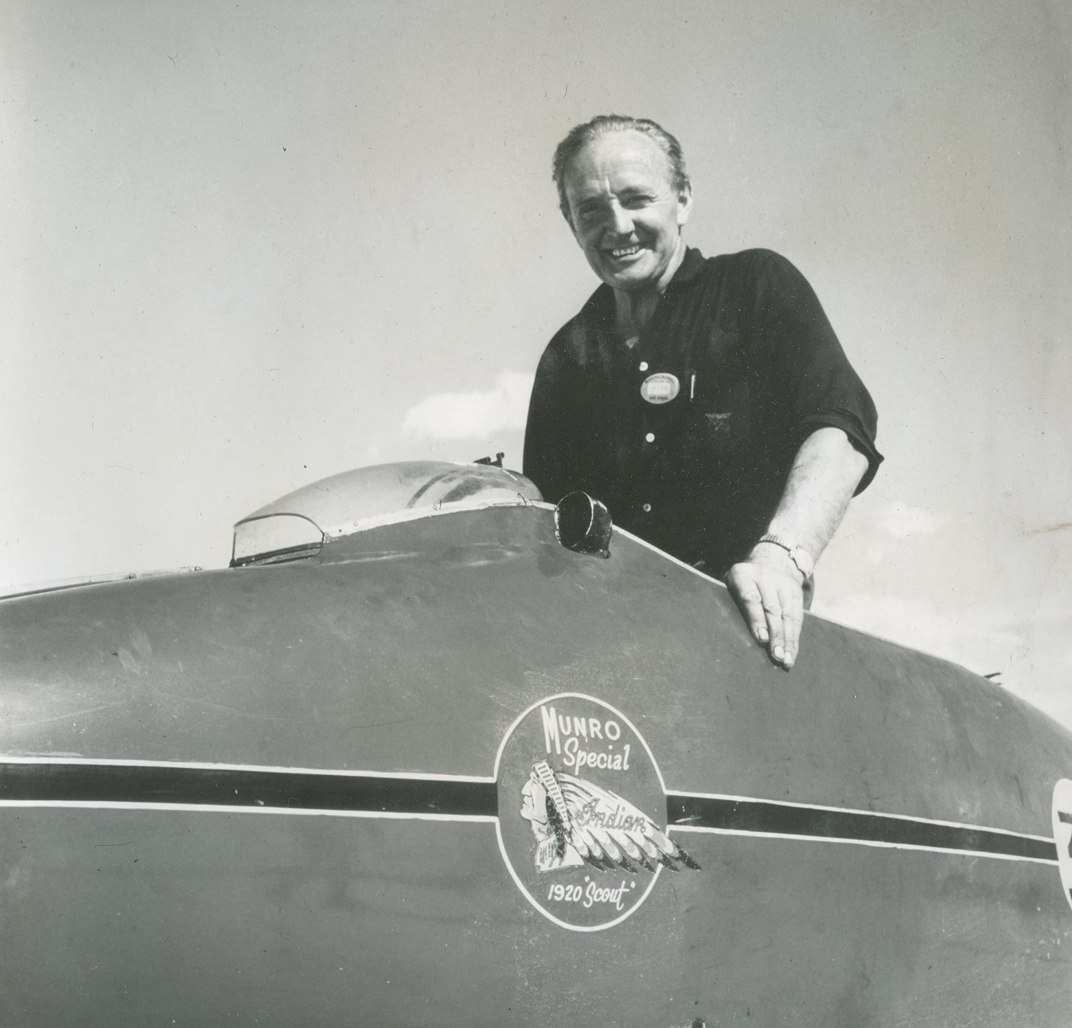 Burt Munro - Photo Courtesy of Baume Mercier - SWAGGER Magazine