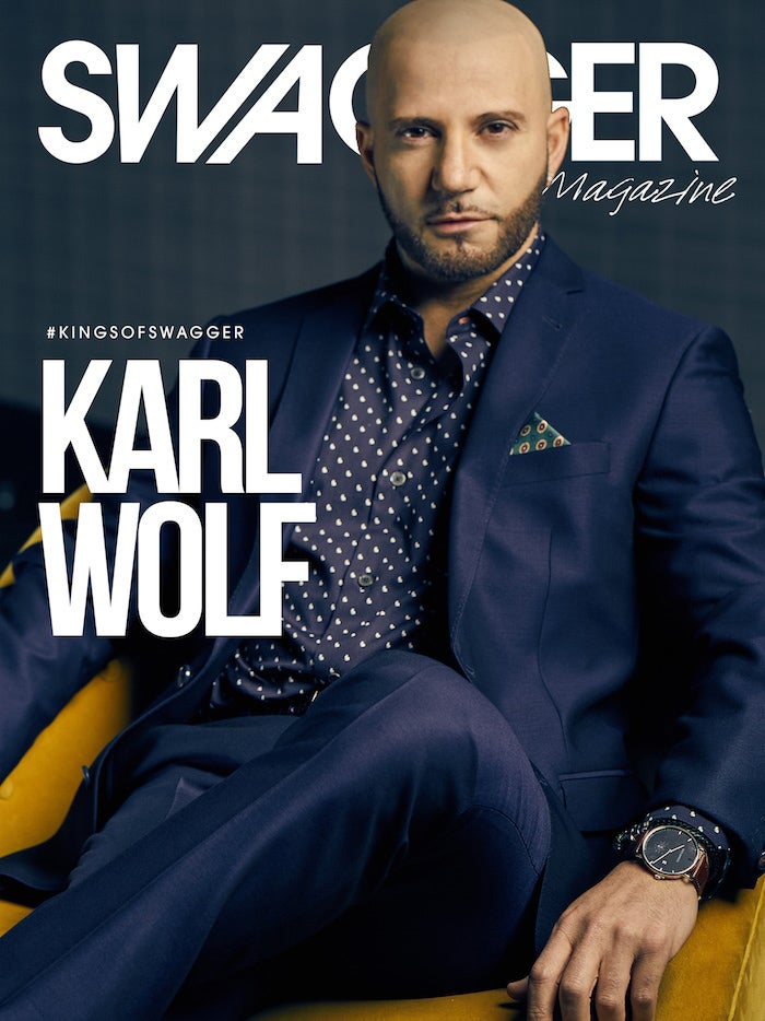 Karl Wolf - Cover Feature / SWAGGER Magazine