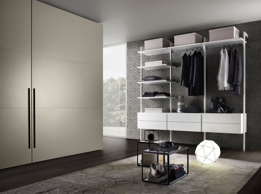 Olivieri Mobili Loft Wardrobe / SWAGGER Magazine