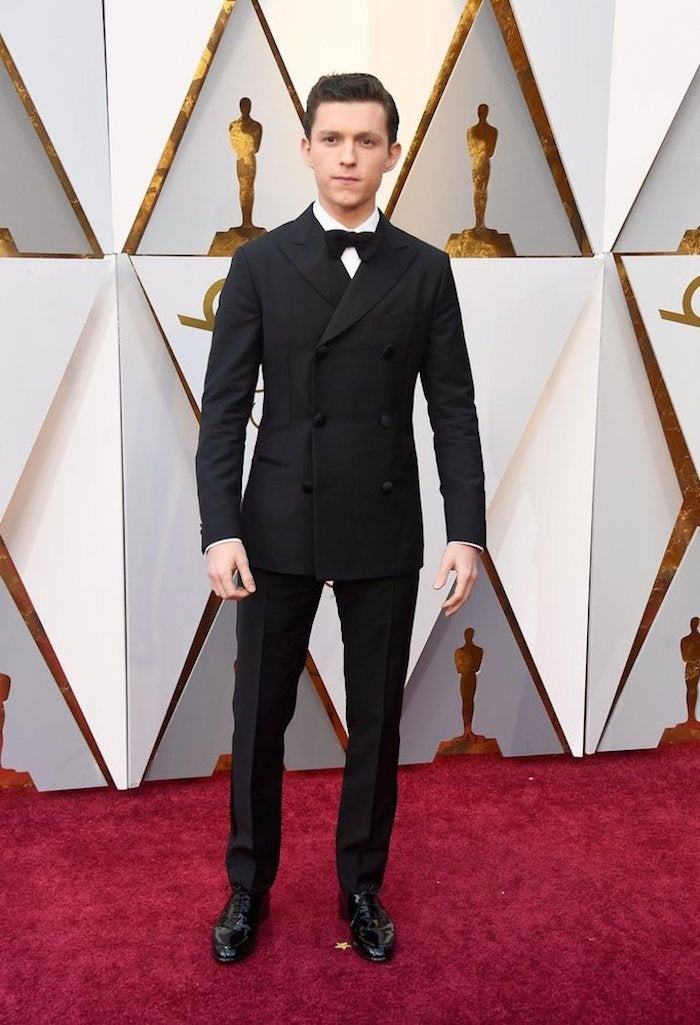 Tom Holland - 2018 Oscars Red Carpet Best Dressed - SWAGGER Magazine
