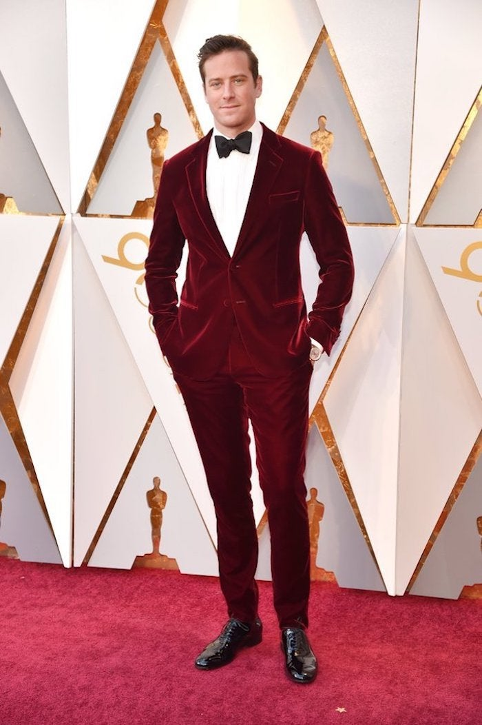 Armie Hammer - 2018 Oscars Red Carpet Best Dressed - SWAGGER Magazine