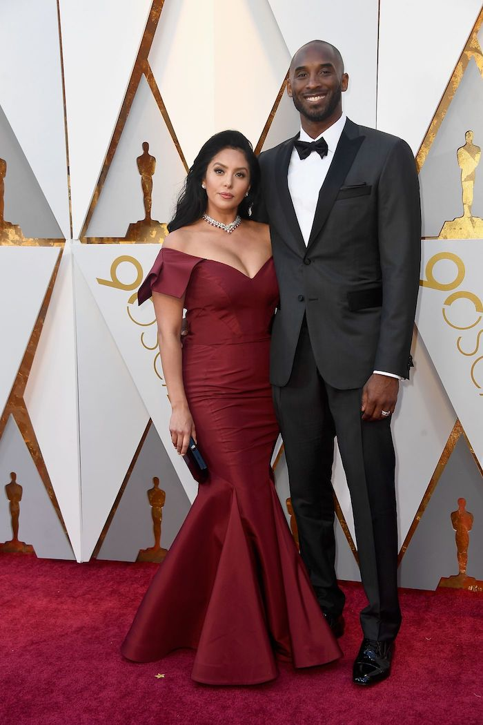 Tony & Vanessa Bryant - 2018 Oscars Red Carpet Best Dressed - SWAGGER Magazine