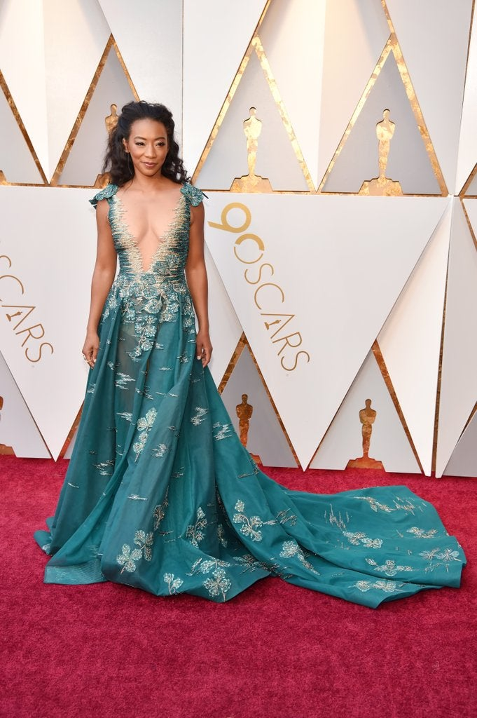 Betty Gabriel - 2018 Oscars Red Carpet Best Dressed - SWAGGER Magazine