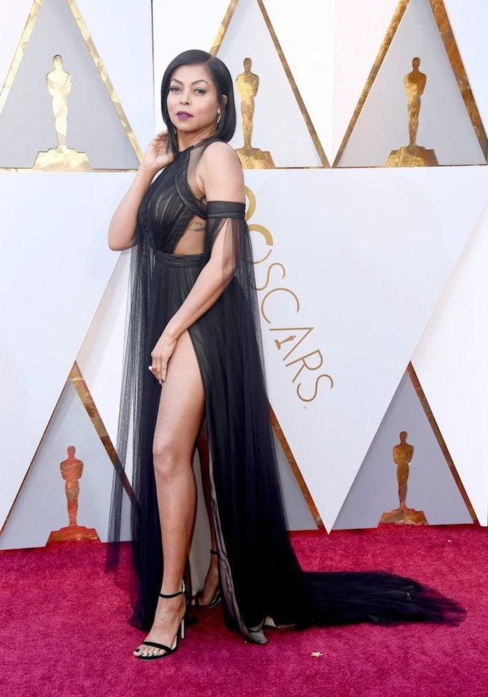 Taraji Henson - 2018 Oscars Red Carpet Best Dressed - SWAGGER Magazine