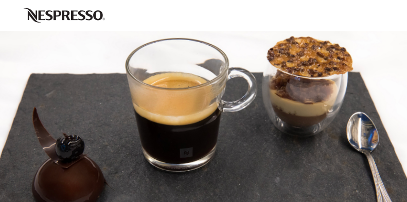 Nespresso Café Gourmand winner, Ana Cotors winning pastries / SWAGGER Magazine