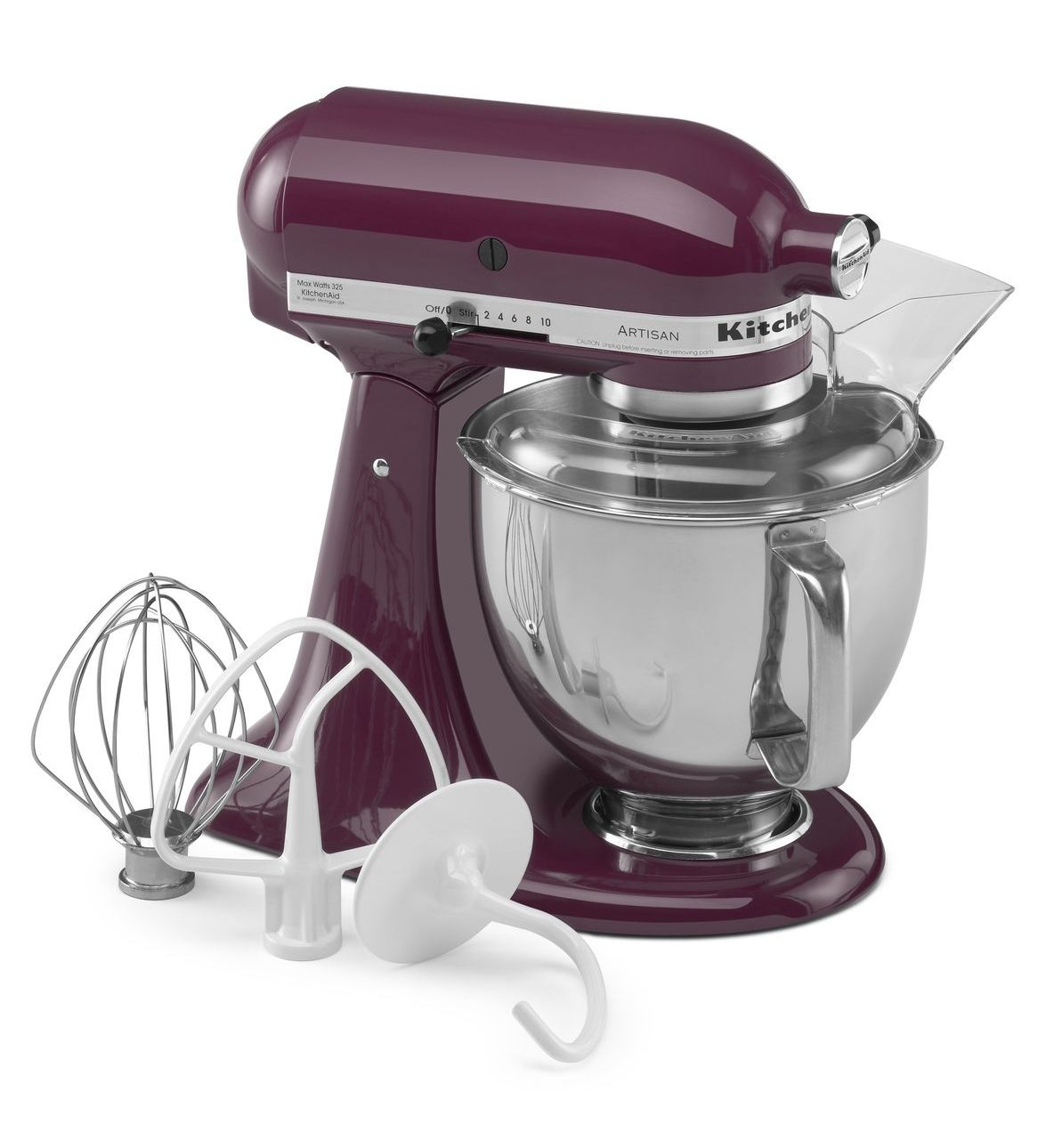 KitchenAid Artisan® Series 5-Quart Tilt-Head Stand Mixer Ultra violet Pantone / SWAGGER Magazine