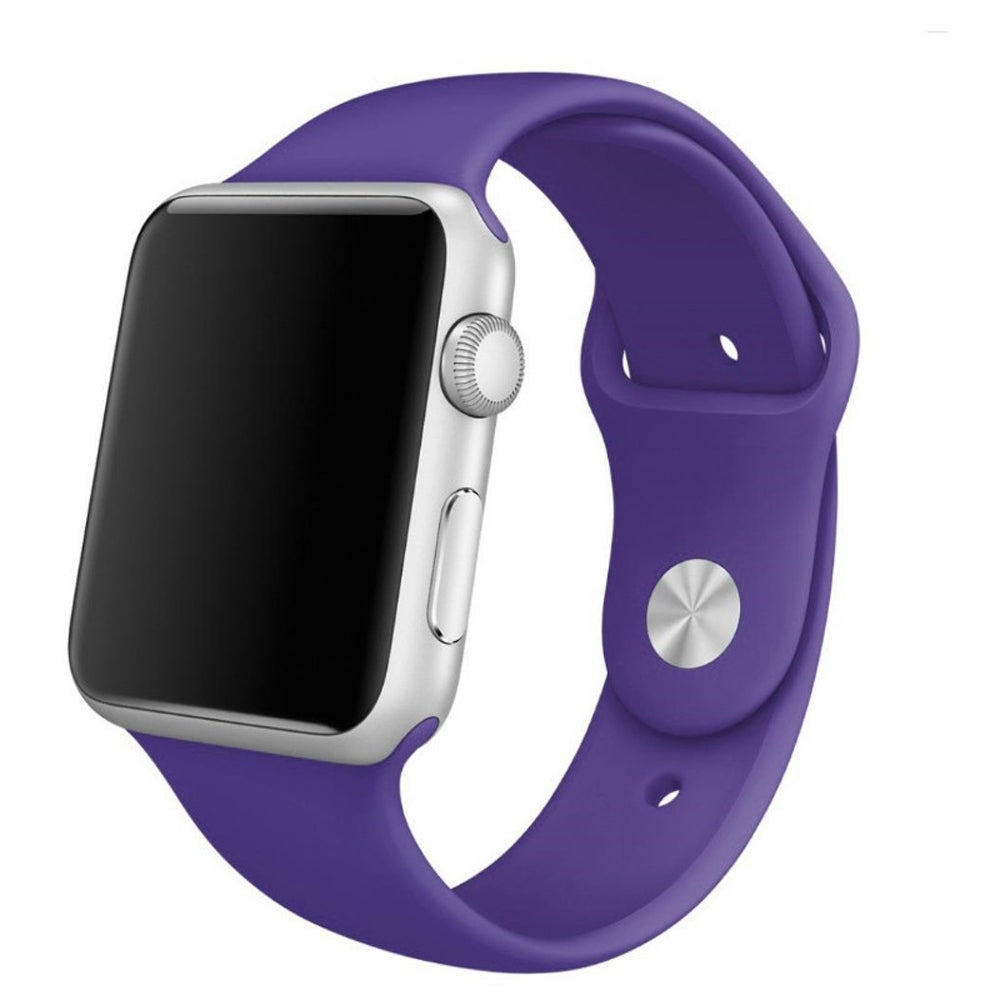 Apple Watch with 42mm Ultra Violet Pantone Sport Band / SWAGGER Magazine