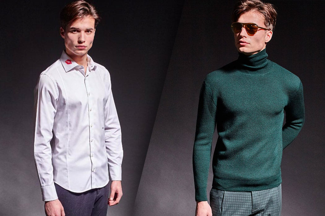 Men's Essentials - Christopher Bates Shirt & Turtleneck - SWAGGER Magazine