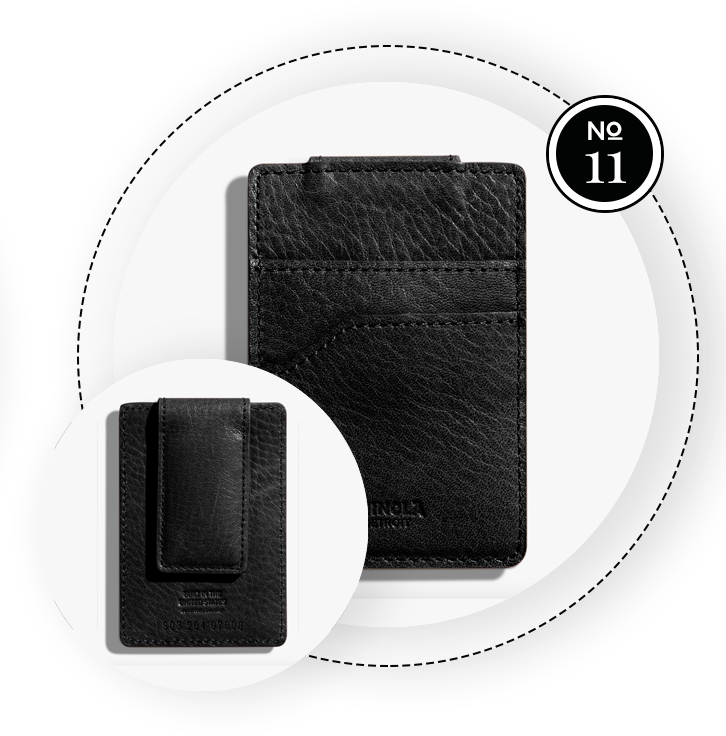 MAGNETIC MONEY CLIP CARD SLIM WALLET / SWAGGER Magazine