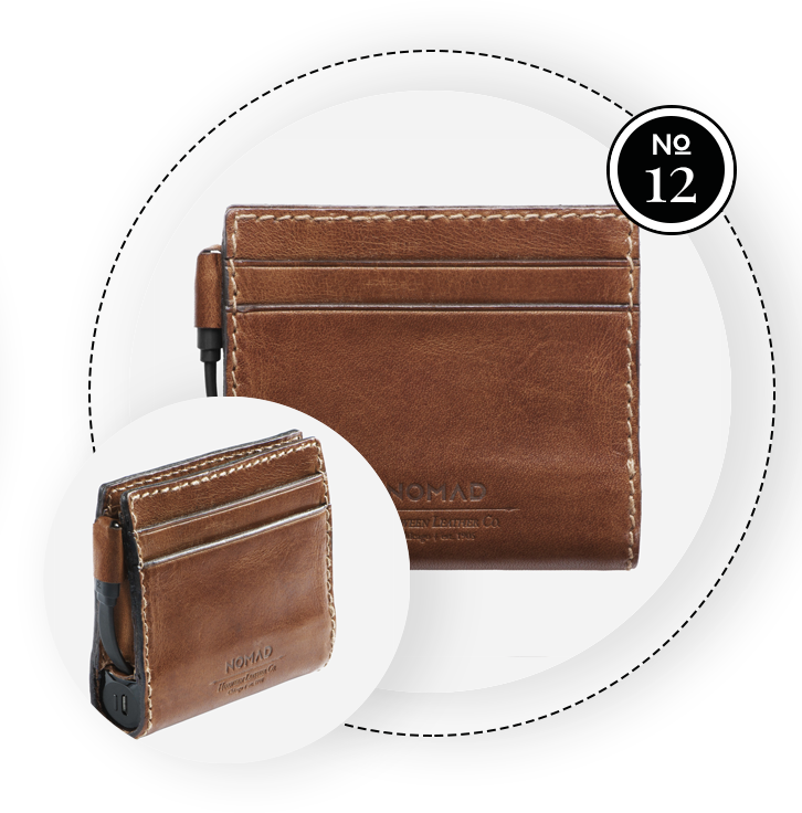 NOMAD CHARGING WALLET / SWAGGER Magazine