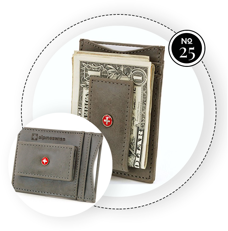 ALPINE SWISS SLIM WALLET / SWAGGER Magazine