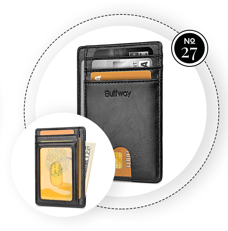 BUFFWAY SLIM WALLET / SWAGGER Magazine