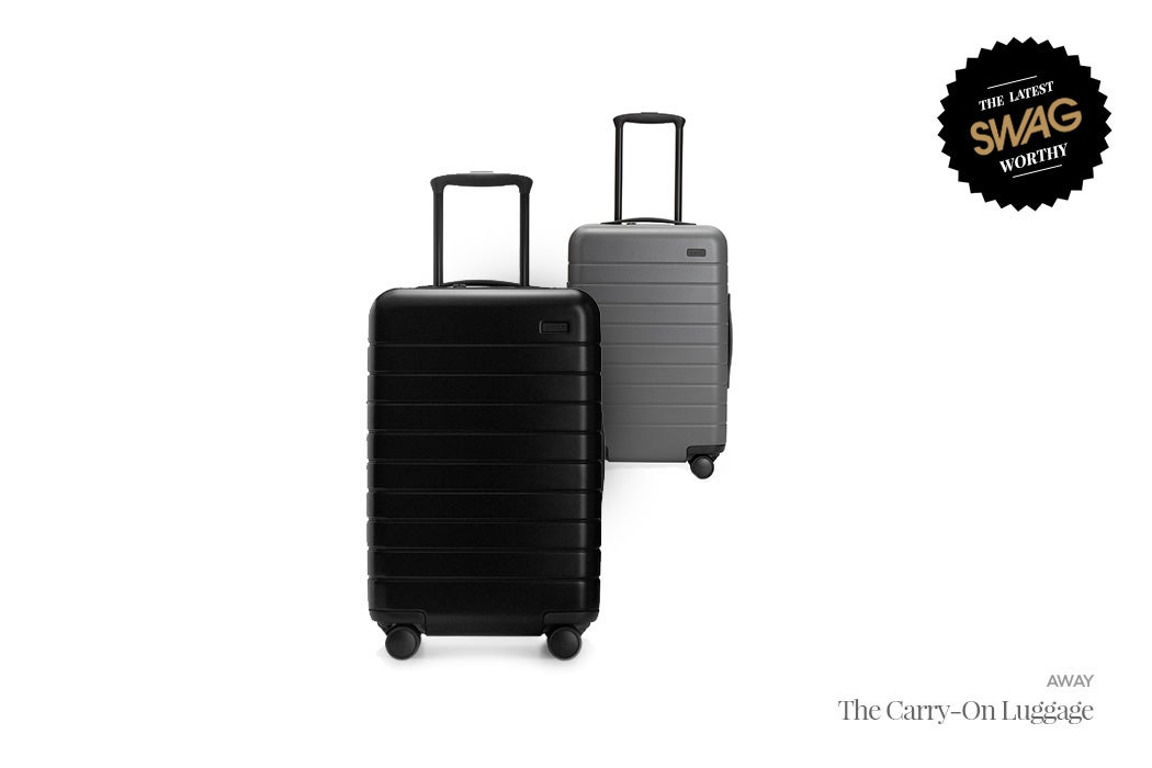 Away Travel Luggage & Carry-on - #SWAGWorthy Travel Essentials | SWAGGER Magazine