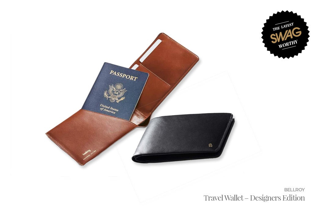 Bellroy Travel Wallet - #SWAGWorthy Travel Essentials | SWAGGER Magazine