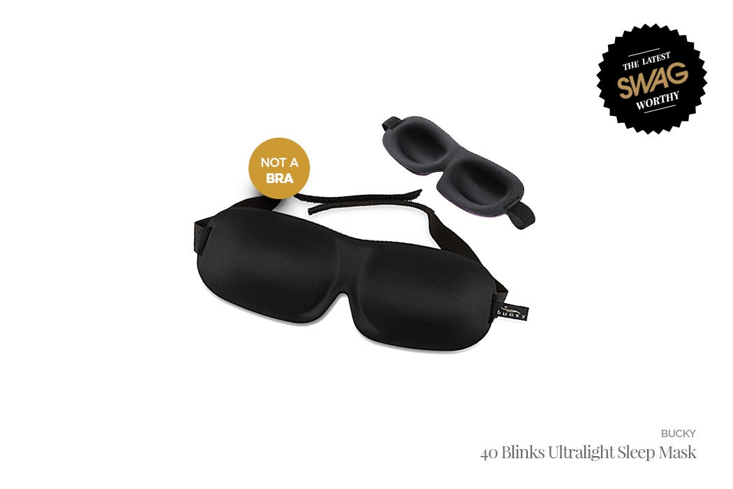 Bucky Sleep Mask - #SWAGWorthy Travel Essentials | SWAGGER Magazine
