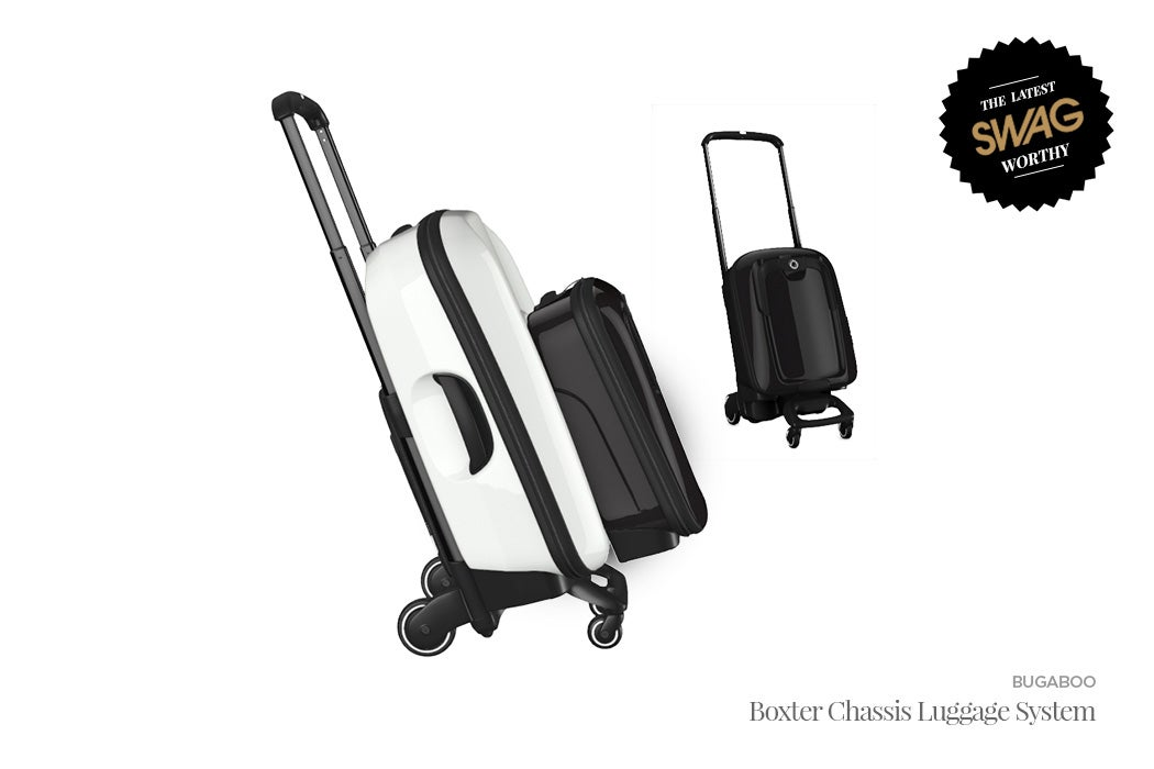 Bugaboo Boxter Chassis Luggage System - #SWAGWorthy Travel Essentials | SWAGGER Magazine