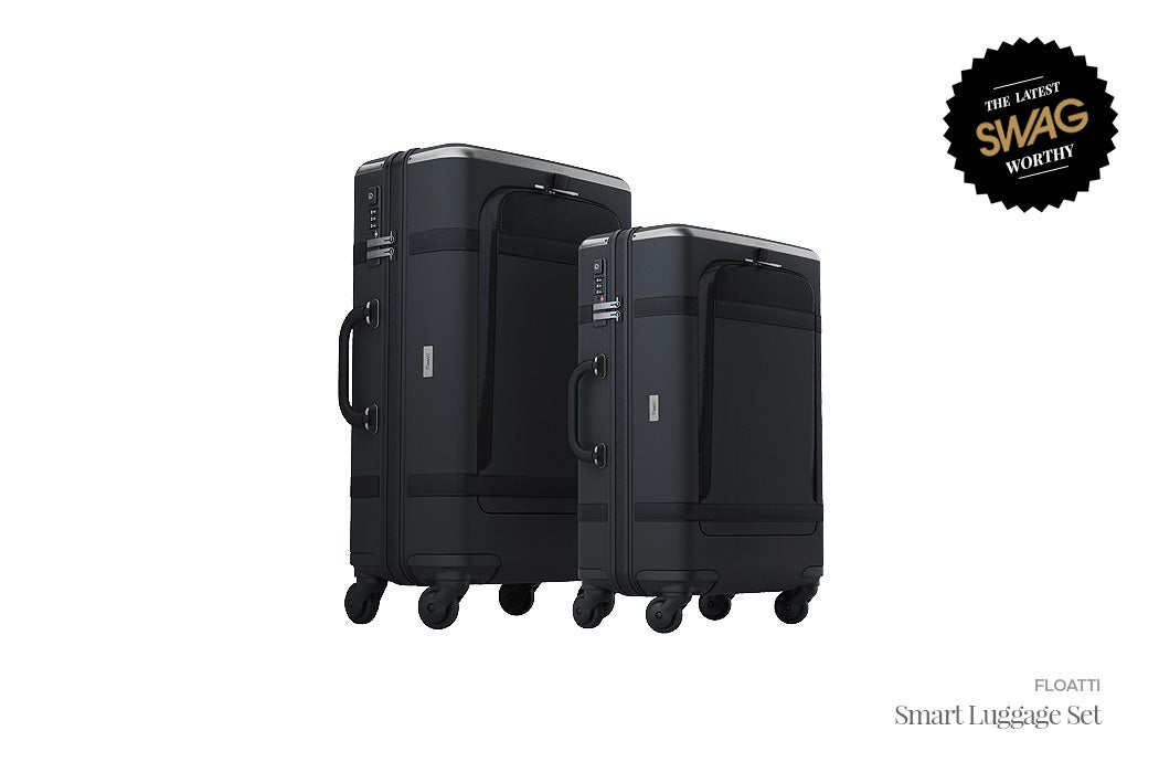 Floatti Smart Luggage & Carry-on - #SWAGWorthy Travel Essentials | SWAGGER Magazine