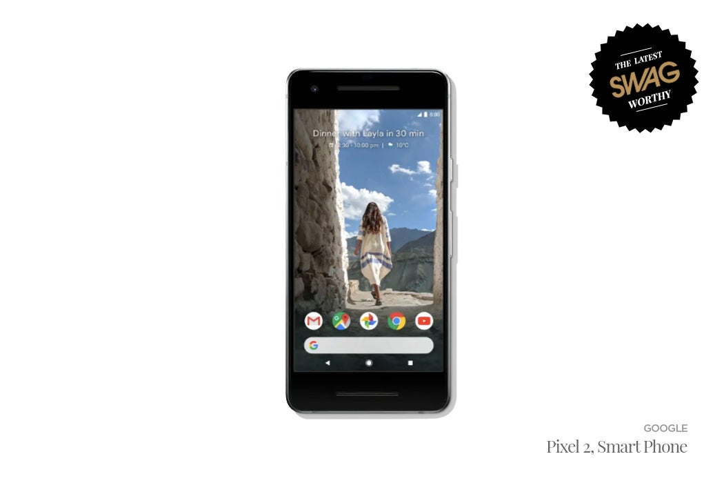 Google Pixel 2 Smart Phone - #SWAGWorthy Travel Essentials | SWAGGER Magazine