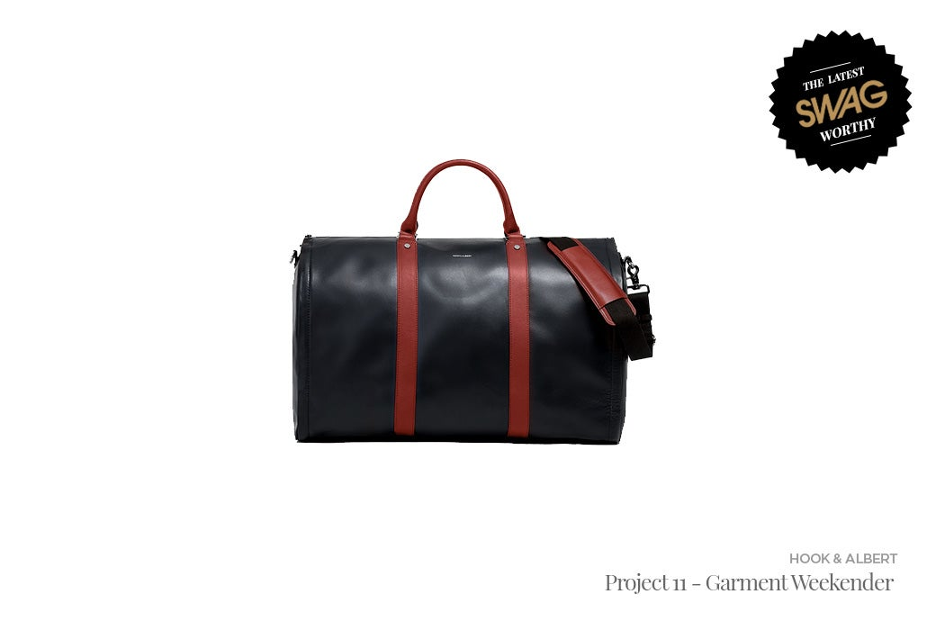 Hook & Albert Project 11 - Garment Weekender - #SWAGWorthy Travel Essentials | SWAGGER Magazine