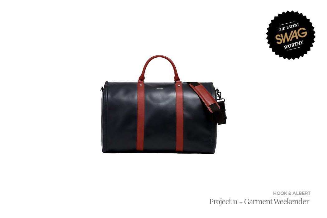 Hook & Albert Project 11 - Garment Weekender - #SWAGWorthy Travel Essentials | SWAGGER Magazine