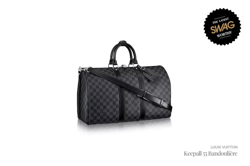 Louis Vuitton (LV) Weekender Duffel Keepall 55 Bandouliere - #SWAGWorthy Travel Essentials | SWAGGER Magazine