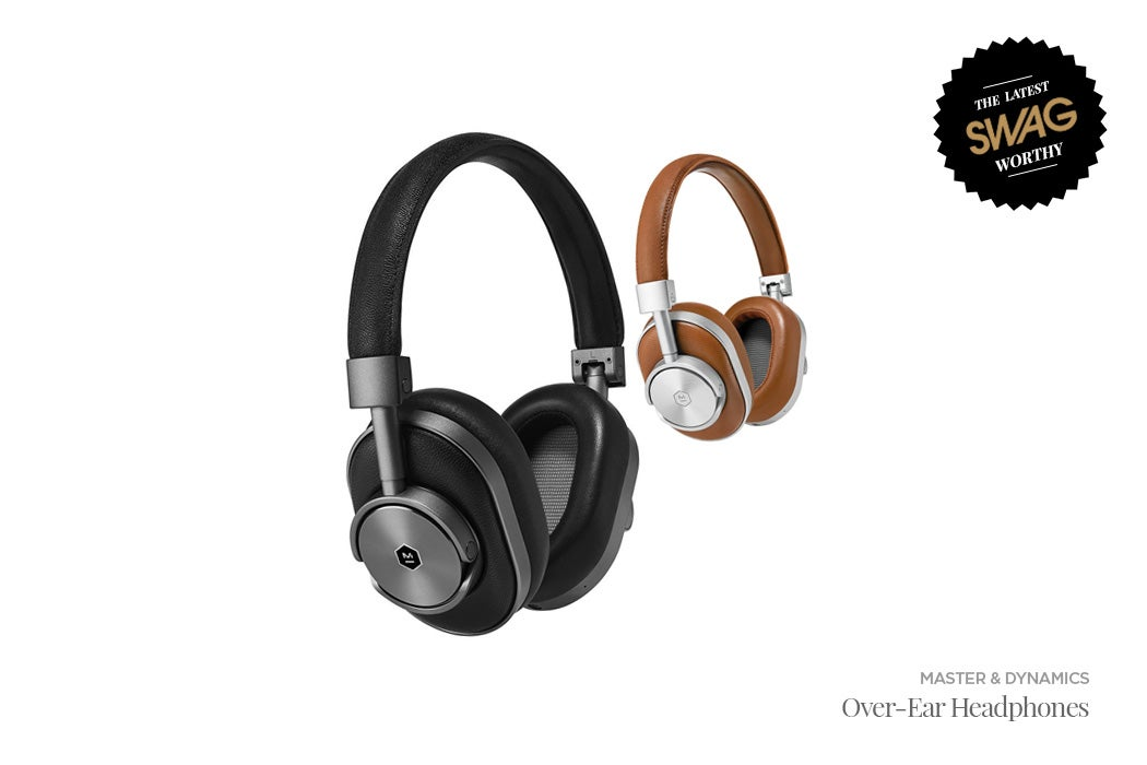 Master & Dynamic Over-Ear Headphones - #SWAGWorthy Travel Essentials | SWAGGER Magazine