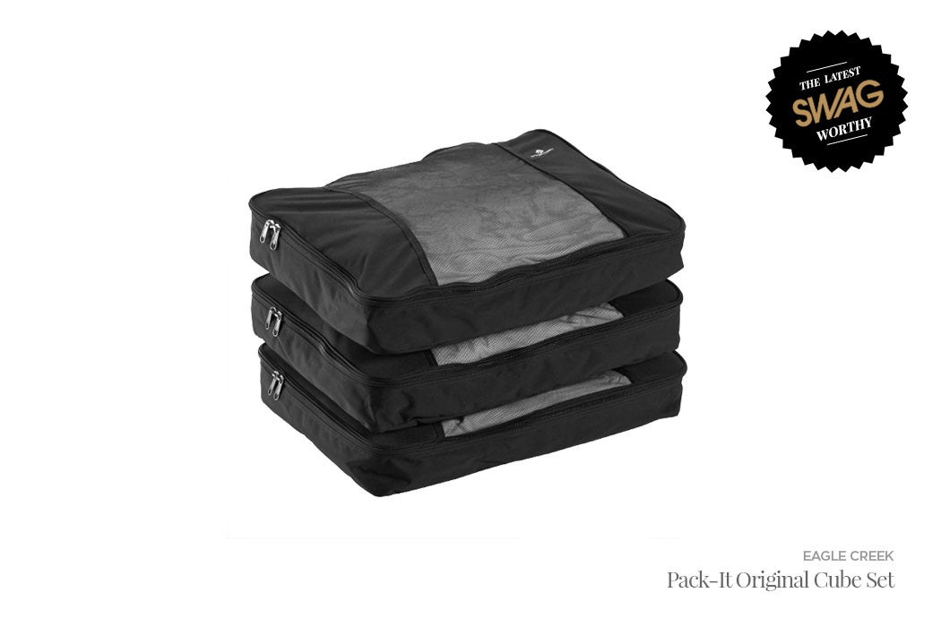 Eagle Creek Pack-It Cube Set Garment Folder - #SWAGWorthy Travel Essentials | SWAGGER Magazine