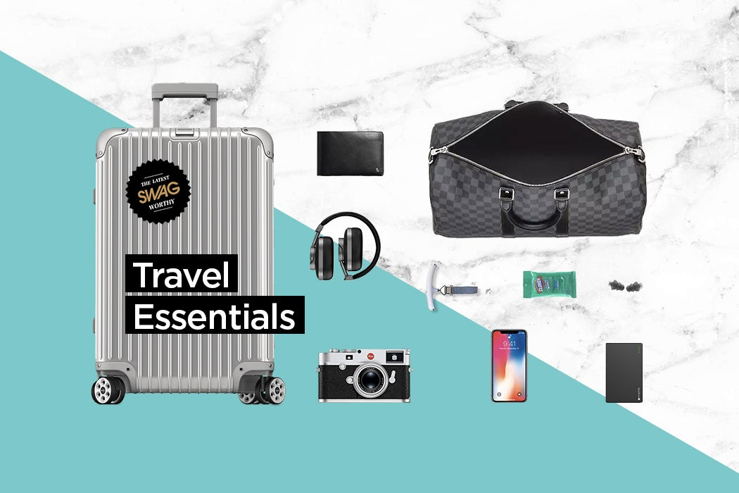 Travel Essentials Must-Haves - SWAGGER Magazine
