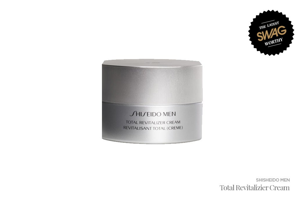 Shiseido Men Revitalizer Cream - #SWAGWorthy Travel Essentials   SWAGGER Magazine