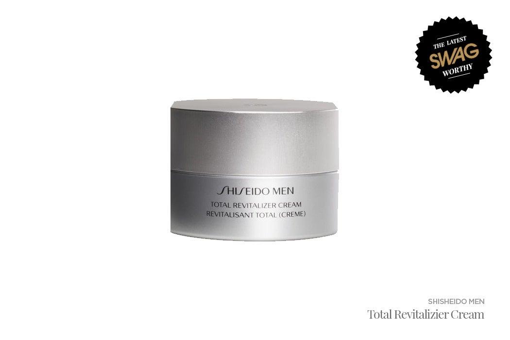 Shiseido Men Revitalizer Cream - #SWAGWorthy Travel Essentials | SWAGGER Magazine